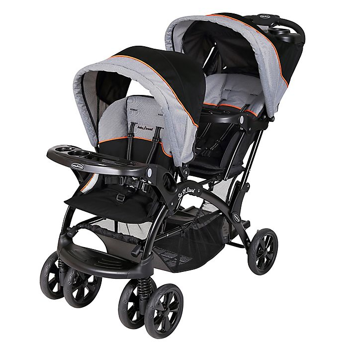 Alternate image 1 for Baby Trend Sit N' Stand Double Stroller