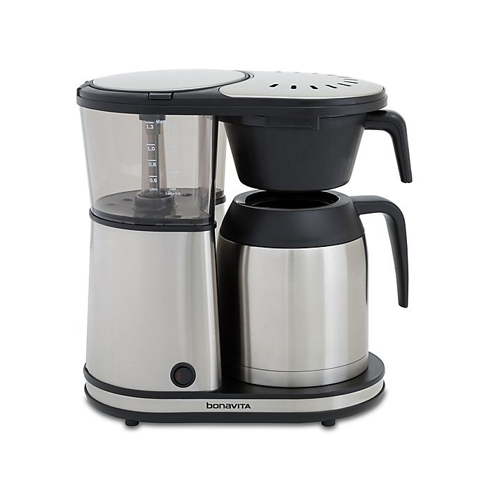 Alternate image 1 for Bonavita® 8-Cup Stainless Steel Coffee Brewer