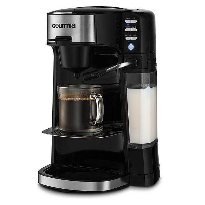 Alternate image 1 for Gourmia® GCM 6000 Coffee/Cappuccino/Latte Maker in Black