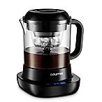 Gourmia® 3-Cup Automatic Cold Brew Coffee Maker in Black