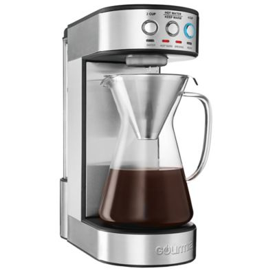 Gourmia 4 Cup Fully Automatic Pour Over Coffee Maker In Stainless Steel Bed Bath And Beyond Canada
