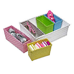 Honey-Can-Do® 6-Piece Nested Basket Set in Pastel Colors