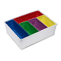 Honey-Can-Do® 6-Piece Nested Basket Set in Primary Colors