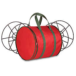 Honey-Can-Do® Holiday Lights Storage Reels and Bag in Red/Green