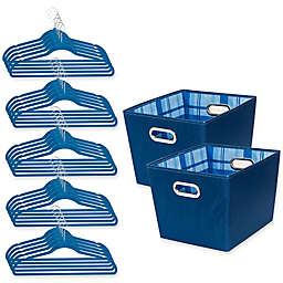 Honey-Can-Do® 3-Piece Totes and Hangers Kit