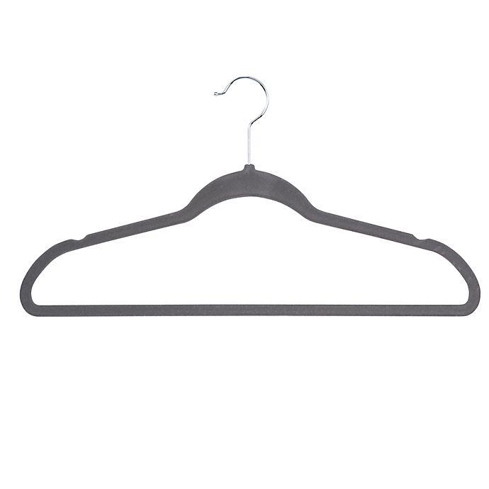 Alternate image 1 for Honey-Can-Do® 25-Pack Flocked Suit Hanger