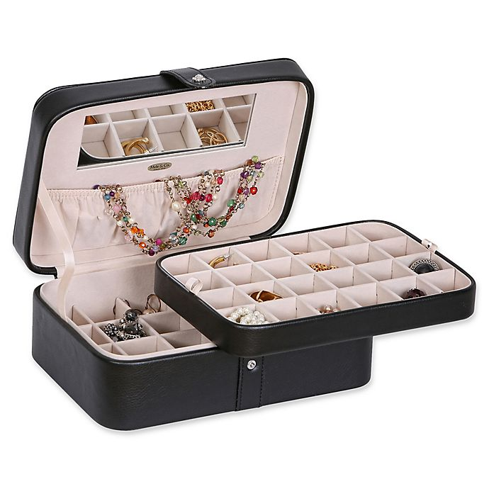 Alternate image 1 for Mele & Co. Lila 48-Section Medium Jewelry Box