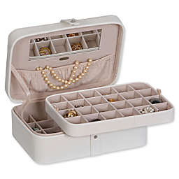 Mele & Co. Lila 48-Section Medium Jewelry Box
