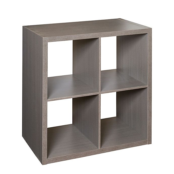 Alternate image 1 for Honey-Can-Do® Premium Laminate Organizer Shelf in Teak