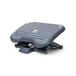 Mind Reader Adjustable Height/Tilt Ergonomic Foot Rest in Black