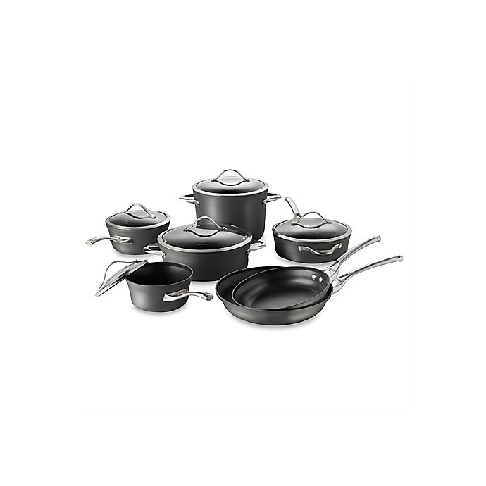 Alternate image 1 for Calphalon® Contemporary Nonstick 12-Piece Cookware Set