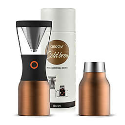 ASOBU 40 oz. Stainless Steel Cold Brew Coffee Maker in Copper