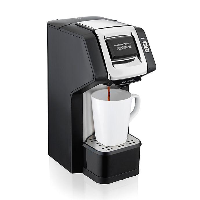 Alternate image 1 for Hamilton Beach® FlexBrew® Single-Serve Plus Coffee Maker in Black