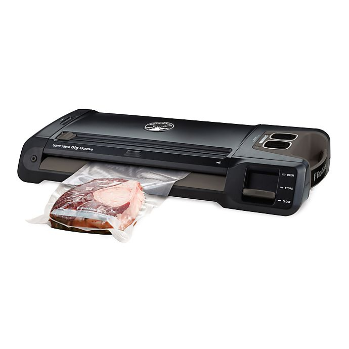 Alternate image 1 for FoodSaver® GameSaver® Big Game™ Vacuum Sealer in Black