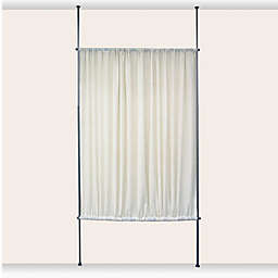 Versailles Home Fashions Linen Look Privacy Panel