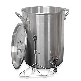 King Kooker® 30-Quart Aluminum Turkey Fryer with Spigot for Draining