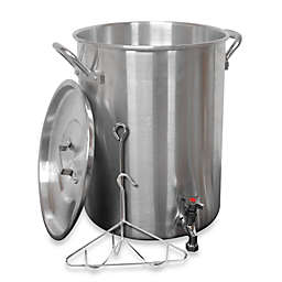 King Kooker® 30-Quart Aluminum Turkey Fryer with Spigot for Draining