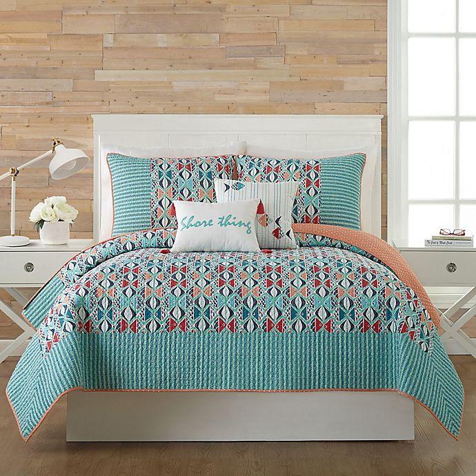 Go Bed And Bath: Vera Bradley® Go Fish Quilt