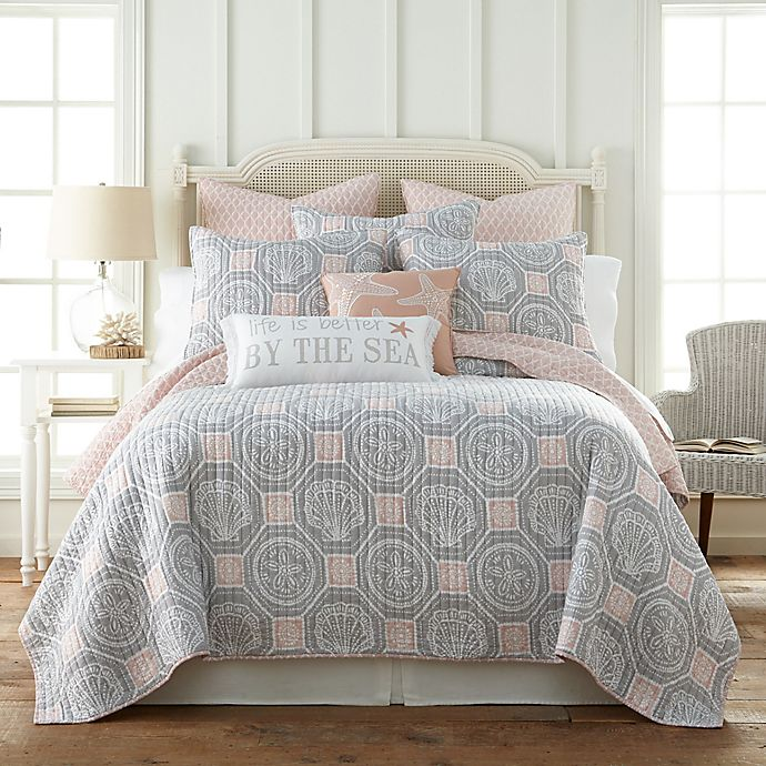 Alternate image 1 for Levtex Home Sea Isle Reversible Quilt