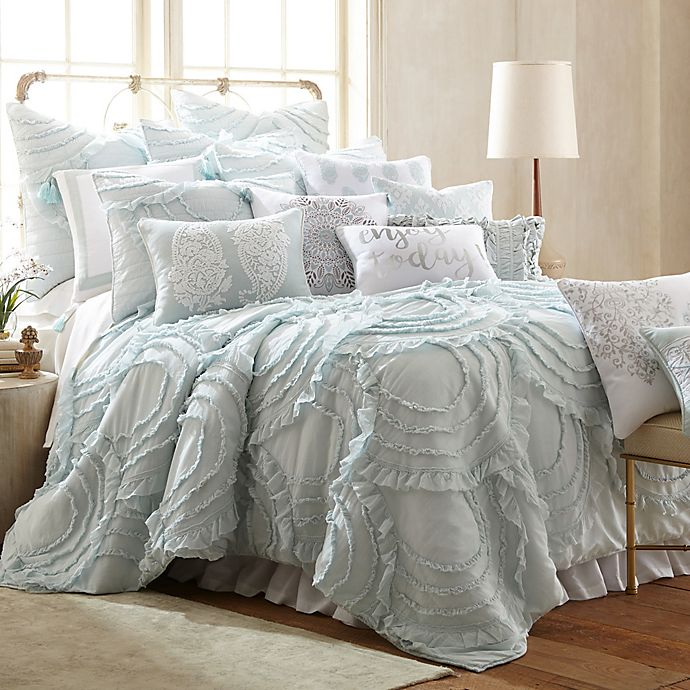 Levtex Home Allie Reversible Quilt Set In Teal Bed Bath Beyond
