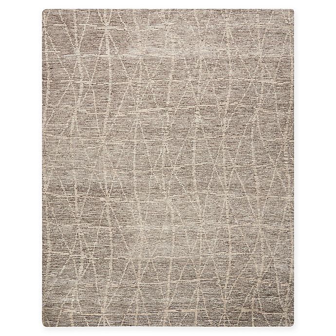 Alternate image 1 for Nourison Ellora 9'9 x 13'9 Hand-Knotted Area Rug in Sand