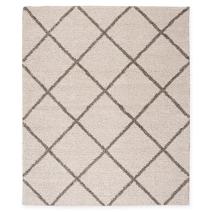 Alternate image 1 for Nourison Brisbane 6'7 x 9'7 Loomed Area Rug in Cream