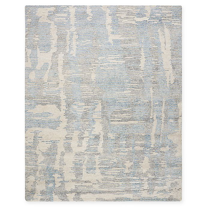 Alternate image 1 for Nourison Ellora 9'9 x 13'9 Hand-Knotted Area Rug in Blue