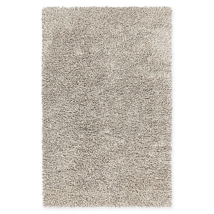 Alternate image 1 for Chandra Rugs Eleanor 5' x 7'6 Hand Woven Shag Area Rug in White