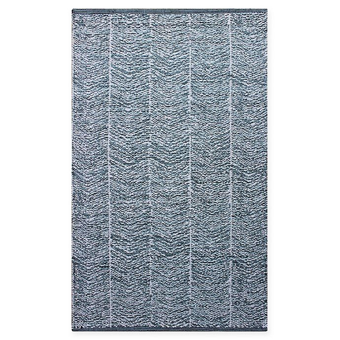 Alternate image 1 for Chandra Rugs Tanya 5' x 7'6 Area Rug in Blue