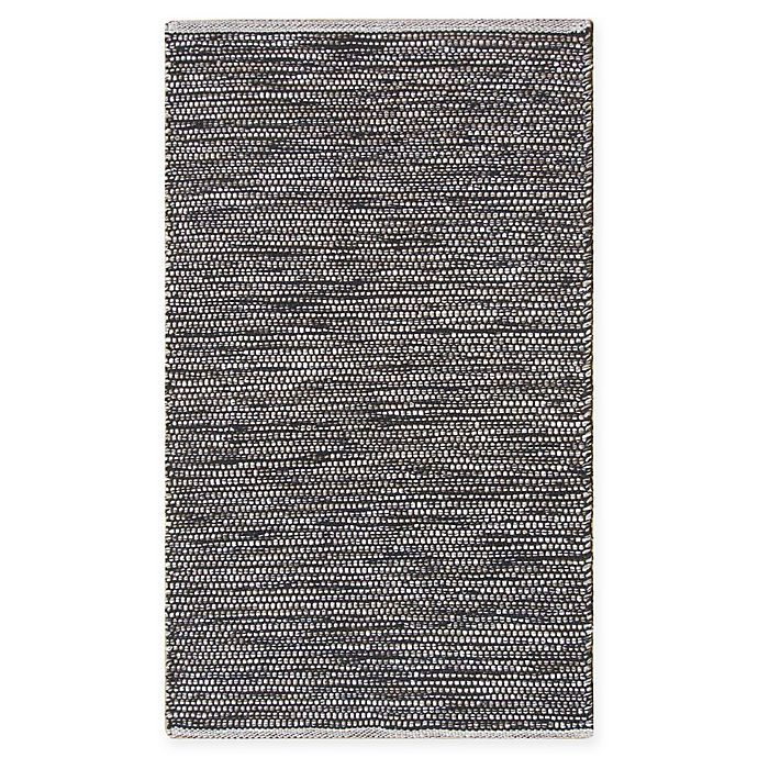 Alternate image 1 for Chandra Rugs Tanya 5' x 7'6 Area Rug in Black/Beige
