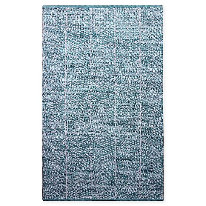 Alternate image 1 for Chandra Rugs Tanya 7'9 x '10'6 Area Rug in Teal