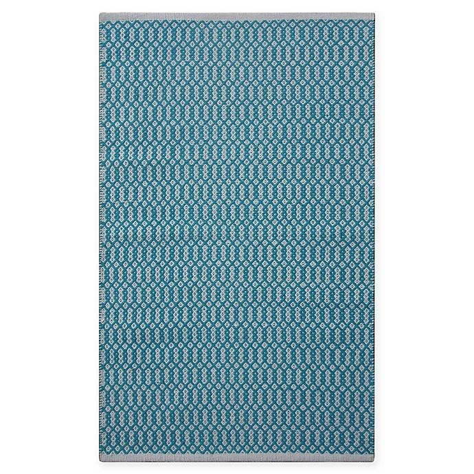 Alternate image 1 for Chandra Rugs Tanya 7'9 x 10'6 Area Rug om Teal/White