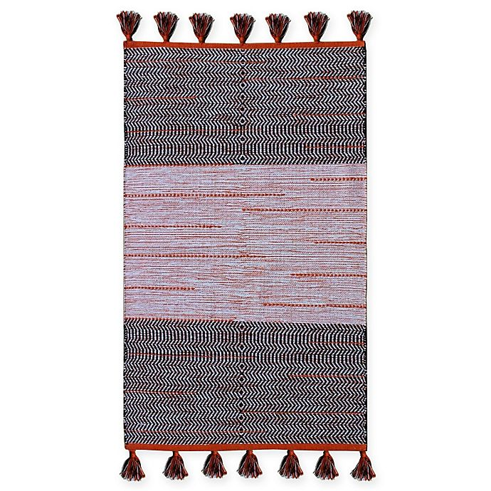 Alternate image 1 for Chandra Rugs Tanya 9' x 13' Area Rug in Orage/Black