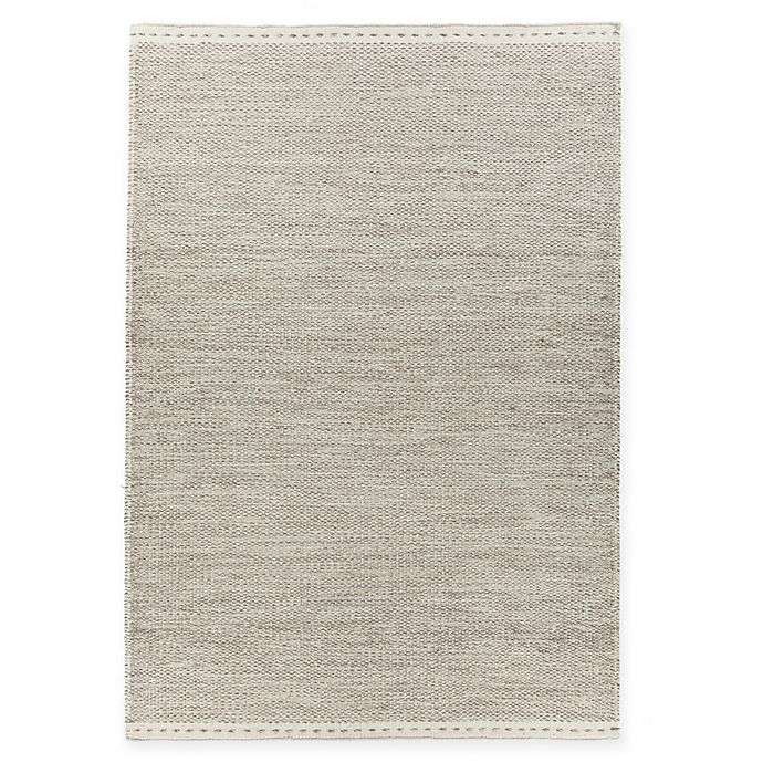 Alternate image 1 for Chandra Rugs Sonnet Flat-Weave 7'9 x 10'6 Area Rug in Grey/White