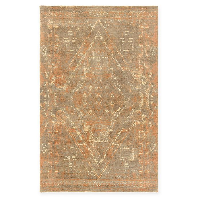 Alternate image 1 for Chandra Rugs Tayla Hand-Tufted 7'9 x 10'6 Area Rug in Rust/Brown