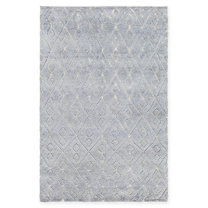 Alternate image 1 for Chandra Rugs Catalina Hand-Knotted 5' x 7'6 Area Rug in Blue
