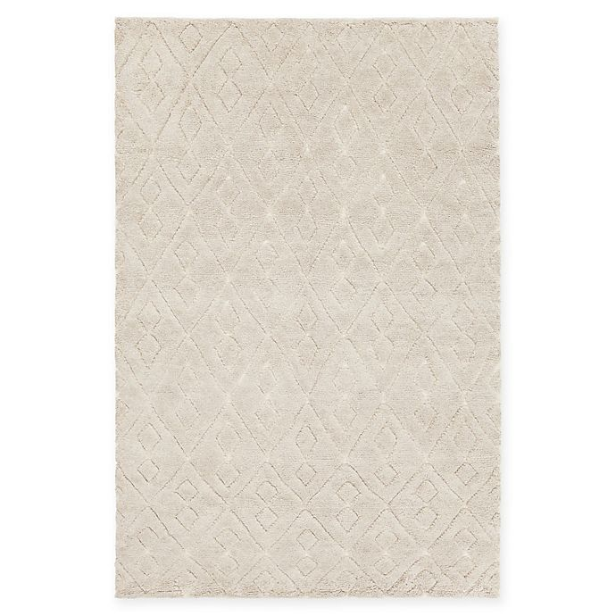 Alternate image 1 for Chandra Rugs Catalina Hand-Knotted 7'9 x 10'6 Area Rug in White