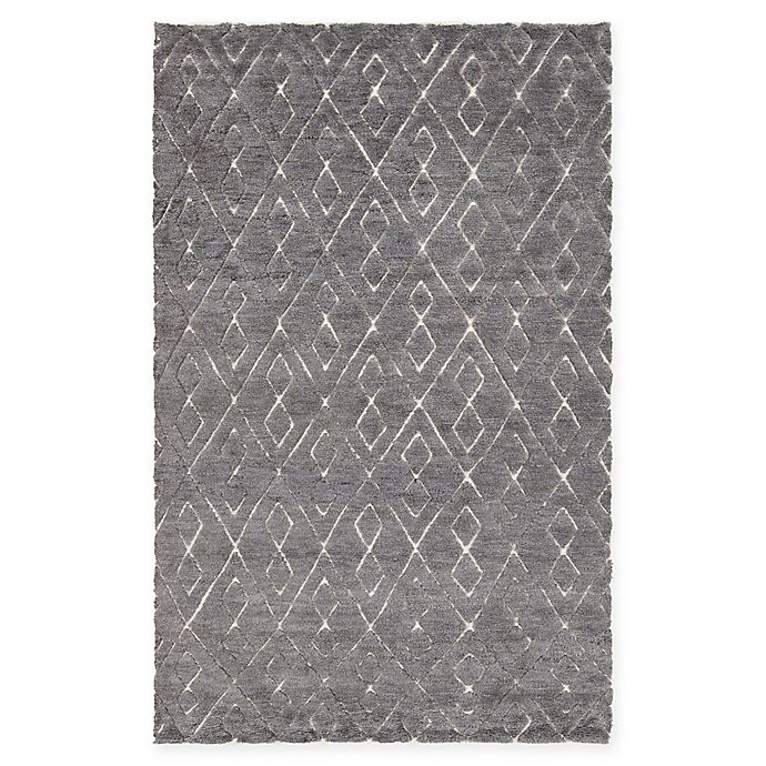 Alternate image 1 for Chandra Rugs Catalina Hand-Knotted 7'9 x 10'6 Area Rug in Dark Grey