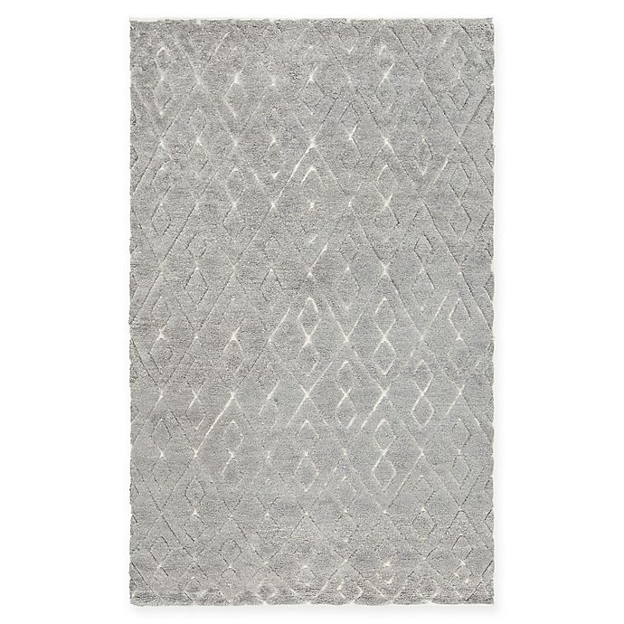 Alternate image 1 for Chandra Rugs Catalina Hand-Knotted 7'9 x 10'6 Area Rug in Grey