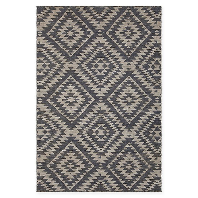 Alternate image 1 for Chandra Rugs Winnie Geometric Diamond 7'9 x 10'6 Handcrafted Area Rug in Grey/White