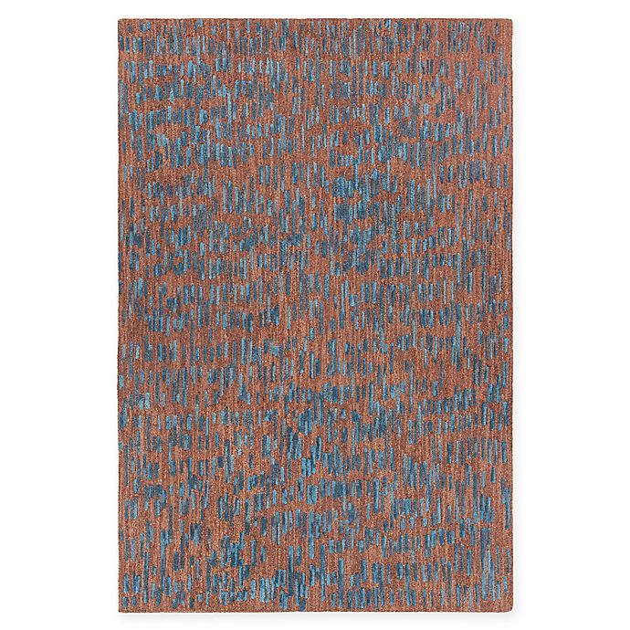 Alternate image 1 for Chandra Rugs Misty 5' x 7'6 Area Rug in Brown/Blue