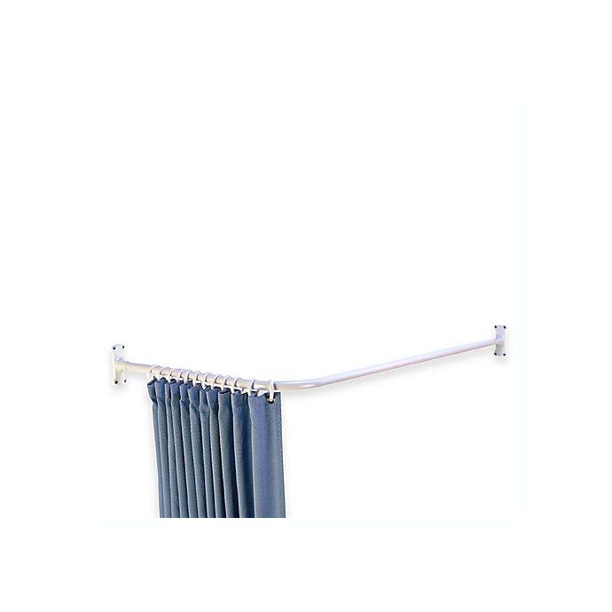 L-Shaped Corner Shower Curtain Rod