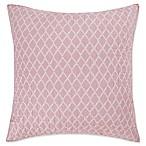 Levtex Home Sea Isle European Pillow Sham in Pink/White