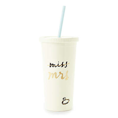 "kate spade new york ""Miss"" to ""Mrs."" Tumbler"