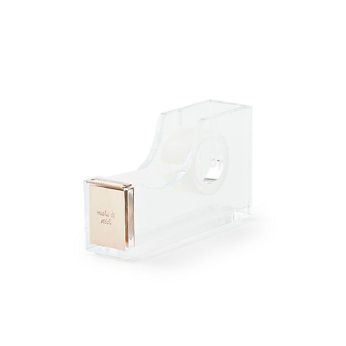 Alternate image 1 for kate spade new york Strike Gold™ Tape Dispenser