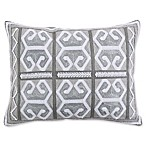 Levtex Home Nia Rectangle Throw Pillow in Grey