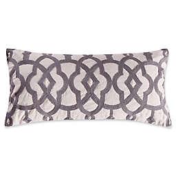 Levtex Home Penelope Stripe Crewel Oblong Throw Pillow
