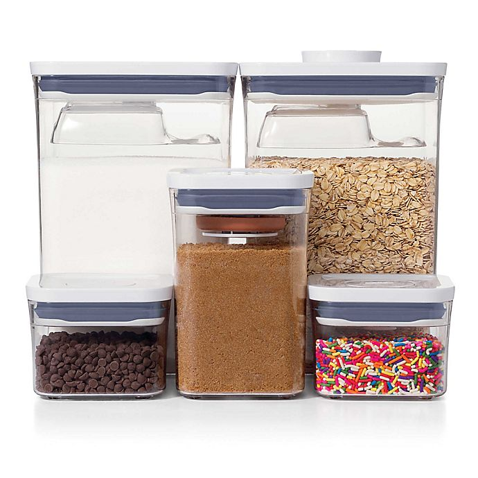Alternate image 1 for OXO Good Grips® 8-Piece Baking Essentials POP Container Set