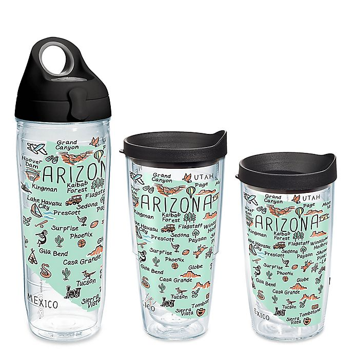 Alternate image 1 for Tervis® My Place Arizona Wrap Drinkware with Lid