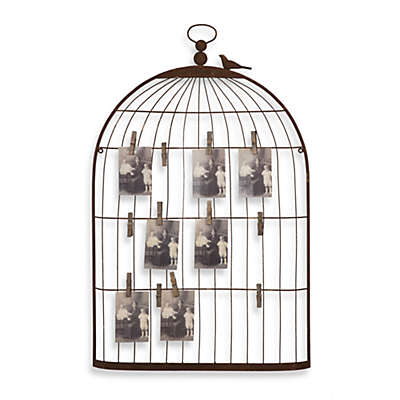 Creative Co-Op Birdcage Card Holder